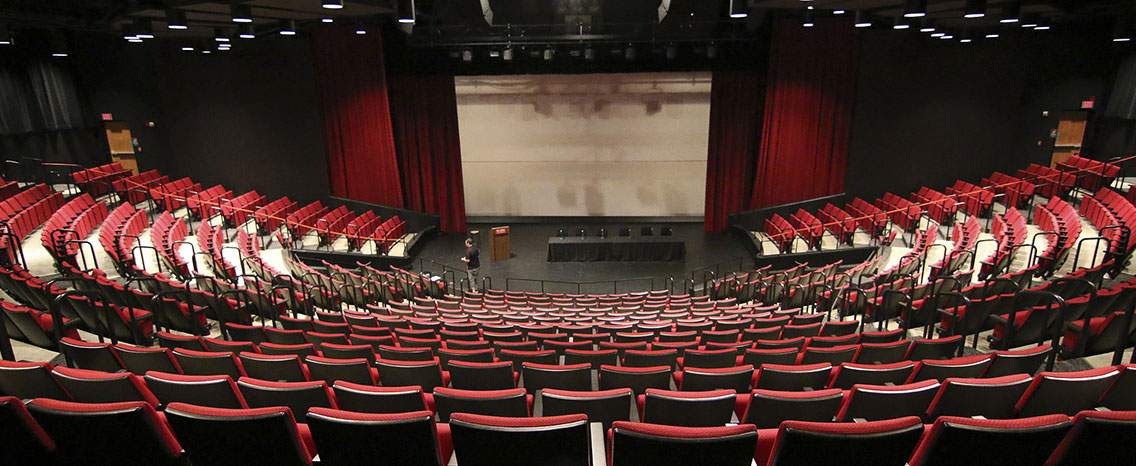 Visit a theatre hall