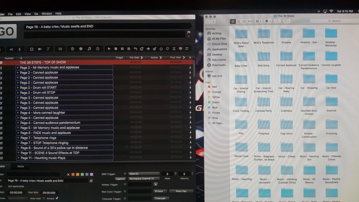 Picture of Sound Design Layout