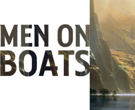 Men on Boats show graphic