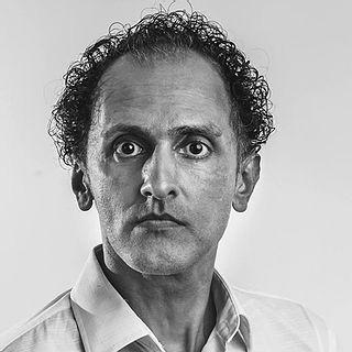 Headshot of playwright